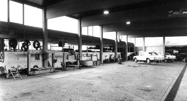 Doblhofer Geschichte Autohalle